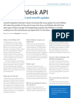 The TOPdesk API | Seamless integration and smooth updates