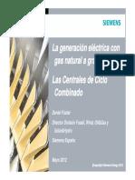 2. Daniel Fuster LA GENERACION ELECTRICA CON GAS NATURAL
