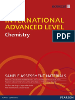 IAL Chemistry SAM Booklet