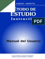 Método de Estudio - Introduccion - 2010