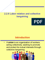 2.2.6 Labor Relation and Collective Bargaining