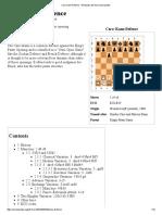 Caro–Kann Defence - Wikipedia, The Free Encyclopedia