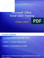 Excel 2007—Create a chart
