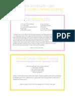 lemonadecake&frostingrecipes