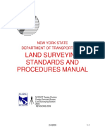Land Surveying Standards and Procedures Manual