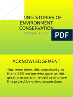 Inspiring Stories of Environment Conservation
