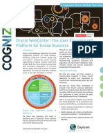 Oracle Webcenter Cognizant Oracle Solution