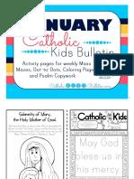 2017 January Catholic Kids Bulletin