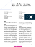 5-055-12_Backlund.pdfenergy Efficiency Potentials and Energy Management Practices in Swedish Firms