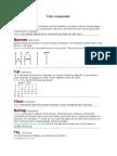 Unix Commands With File Permissions