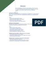 Valvulas -Tipos e Funções