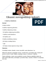 Ukusni Novogodišnji Keksići - Gastro Priče - Gastro