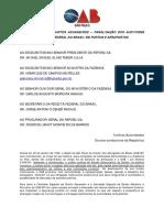 Carta aberta contra a paralisação RFB. 21.12.2016 Doc
