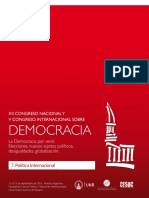 7. Politica Internacional 2016