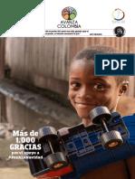 Boletín de Funuvida- Avanza Colombia Diciembre 2016