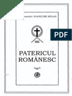 Patericul Romanesc Editia5 Arhim Ioanichie Balan