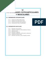 Cap 06 Enfermedades Osteoarticulares y Musculares
