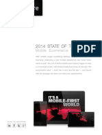 2014 STATE of the UNION Mobile E commerce Performance