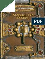 AD&D Manuel Des Joueurs