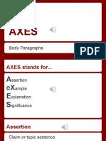 axes  1