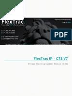 FlexTrac IP CTS Version 7 Manual 2015-11-18