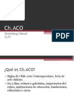 Marketing Cultural, CHaCO,