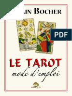 Bocher Alain - Le tarot Mode d'emploi.pdf