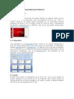 Edicion de Presentaciones Electronicas