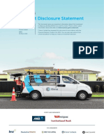 Product Disclosure Statement 30 March 2016