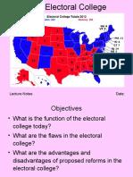 3.4 Electoral College