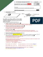 5. Cinematique Et Dynamique Newtonienne - d - Tp2 - Quantite de Mouvement - Correction