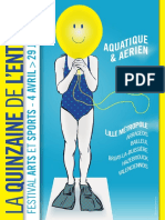 Prog La Quinzaine de l Entorse 2014[1]