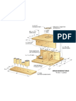 Drum-Sanding Table (WD324086)