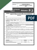 Prova3 Afrf Aduana
