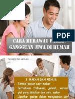 PPT 3. Cara Merawat Pasien Gangguan Jiwa