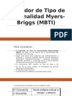 Prueba de Personalidad Myers-briggs