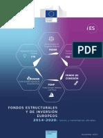 Fondos Estructurales Y de Inversión Europeos 2014-2020