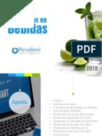 Bebidas Tendencias 2016