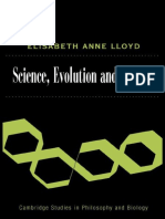 Elisabeth a. Lloyd Science, Politics, And Evolution Cambridge Studies in Philosophy and Biology 2008