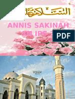 Annis Sakinah Mawaddah Warrohmah