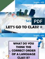 Inglés VIII-Sesión 6