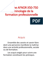 4_vocabulaire de La Formation