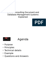 Octree Consulting Document and Database Management Systems Explained