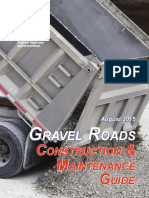 Gravel Roads -Construction & Maintenance Guide