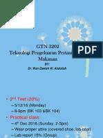 GTN 3202. Lecture 3
