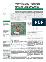 Alternative Poultry Production Systems and Outdoor Access -ATTRA