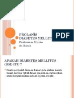 Prolanis Diabetes Mellitus