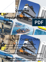 9 Role of Customs in Regulating International Trade