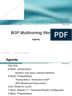 Agenda - BGP Workshop