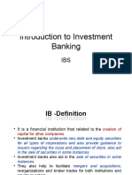 03. Introduction to Investment Banking